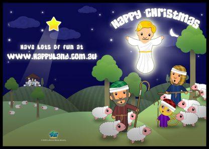 Free Happyland Christmas Cards-0